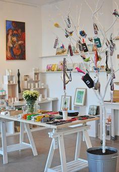 siebenmachen Atelierladen nach dem Umbau - Januar 2014