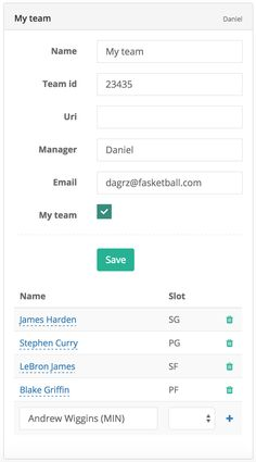 Building your #fantasybasketball team just became dead easy at fasketball.com