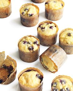 Blueberry-Orange Cornmeal Muffins Recipe