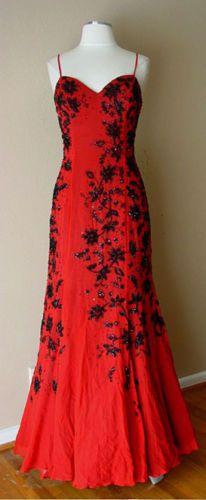 759fd25d415a Vintage Mike Benet Silk Bead Sequin Bras, Evening Gowns, Evening Dresses, Evening  Gowns