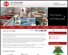 A Clean Manufacturing & Suppliers Website! www.al-halabi.com POWERED BY FSDSOLUTIONS! ;)