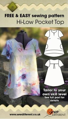 free sewing pattern for women
