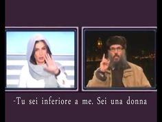 """Zitta Donna!"" Rima Karaki VS Sceicco. Italiano. Lebanese TV Islamist's Interview - YouTube"