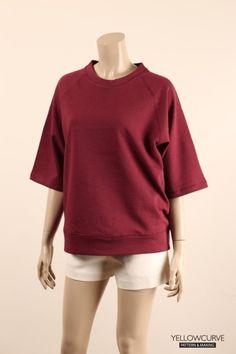 [모델리스트과정] 삼단쭈리를 사용한 맨투맨 반팔 티셔츠 : 네이버 블로그