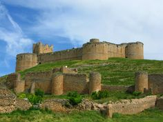 Castillo de Berlanga de Duero. Soria