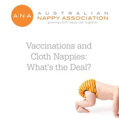 Vaccinations and Cloth#Nappies: What's the Deal? Do you have to take extra precautions when your child is having their immunisations?