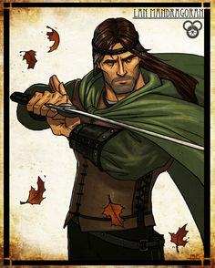 Robert Jordan - Wheel of Time Art :: Seamas Gallagher, artist :: Lan Mandragoran