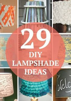 Try these 29 cool DIY lamp shades to match any room in your home.