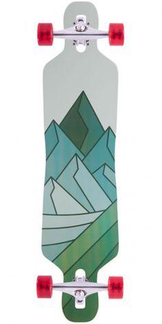 the latest 8b4b6 b4aa4 Arbor Axis Koa Longboard Skateboard Complete - 2014