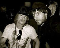 Mr Axel Rose meets MrJared Leto