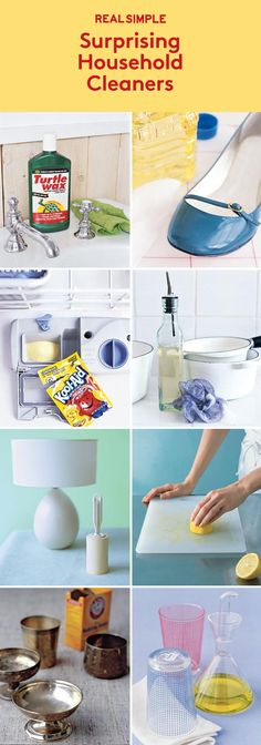 Surprising Household Cleaners | Clever ways to repurpose everyday items.