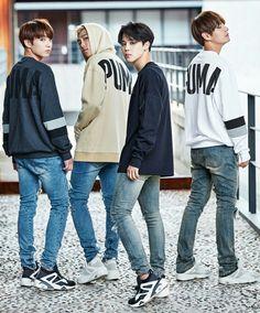 BTS Puma Korea