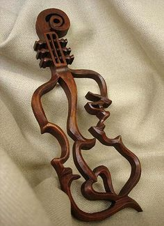 ***Violin outline, Bow as pin Violin gift, Wood carving violin, violin love, Carving Wall Violin 3d Cnc, Whittling, Scroll Saw, Made Of Wood, Wood Sculpture, Oeuvre D'art, Wood Turning, Wood Art, Dremel