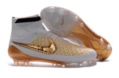 2016 Nike Magista Obra White Gold ACC FG Soccer Boots,www.cheapnikesoccers.com