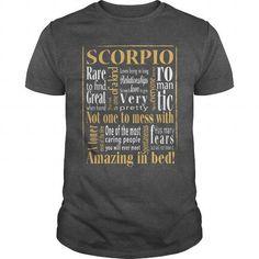 I Love Amazing Scorpio T-Shirts