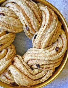 Sunnere kringle Norwegian Food, Healthy Bars, Apple Pie, Nom Nom, Food And Drink, Favorite Recipes, Breakfast, Ethnic Recipes, Desserts