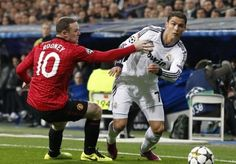 Real Madrid and Manchester United meet in Skopje Super Cup Last Action Hero, Ronaldo Real Madrid, Cristiano Ronaldo, Manchester United, The Unit, Baseball Cards, Sports, Meet, Hs Sports