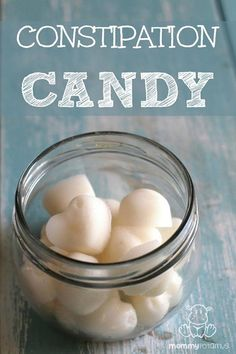 Constipation Candy Constipation Candy Constipation is a common condition that affects people of all ages. It can mean that you're not passing stools regularly or you're unabl