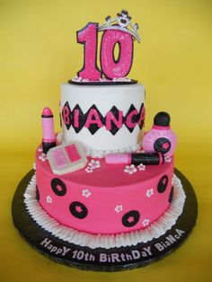 Girls Th Birthday Cake Food Drink Pinterest Th - 10th birthday cake