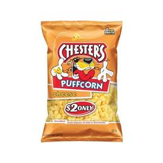 Chester's Puffcorn Cheese Puffed Corn Snacks, 4.5 oz Walmart.com ($2) ❤ liked on Polyvore featuring home, kitchen & dining, serveware, food and food and drink