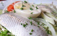 Dieta Dukana :: Salatka śledziowo - jajeczna :: Przepisy Zasady Efekty