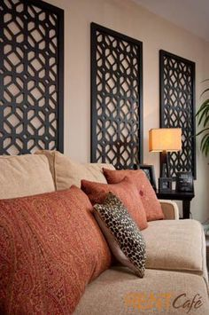 If youre looking to bring an exotic yet elegant feel to your home, you should consider the elegantly mysterious elements Moroccan Room, Moroccan Interiors, Moroccan Decor, Moroccan Colors, Moroccan Kitchen, Moroccan Style, Living Room Colors, Living Room Decor, Living Room Accent Wall