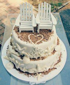 Wedding  or anniversary cake idea