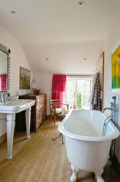 Devon longhouse - bathroom