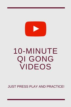 These easy Qi Gong Videos will make you practice 5 minutes Tai Chi For Beginners, Workout For Beginners, Reiki Meditation, Meditation Music, Mindfulness Meditation, Tai Chi Moves, Learn Tai Chi, Tai Chi Exercise, Tai Chi Qigong