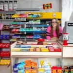 Artist Stocks the Shelves of a London Corner Store with 4,000 Hand-Stitched Felt Products