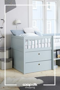 High Beds, Cute Room Decor, Mattress Covers, Bed Storage, How To Make Bed, Danish Design, Home Bedroom, Open Shelving, Small Living