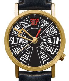 Steamship Telegraph Watch: Great For Nautical Enthusiasts
