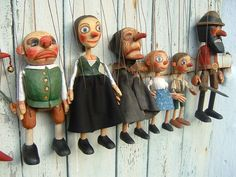 Ruzicka Brothers – czech woodcarvers, carving of puppets and marionettes Stop Motion, Paper Dolls, Art Dolls, Puppets For Sale, James Ensor, Types Of Puppets, Wooden Puppet, Punch And Judy, Marionette Puppet