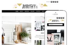 Check out Dorothy Theme by BluChic on Creative Market