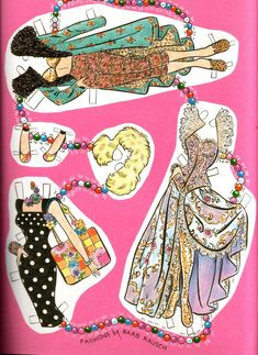 (⑅ ॣ•͈ᴗ•͈ ॣ)♡                                                            ✄Katy Keene paper clothes 3