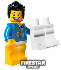 The LEGO Movie Collectable Minifigures - Where are My Pants Guy- Honey, where are my PAAAAAAAANTS?