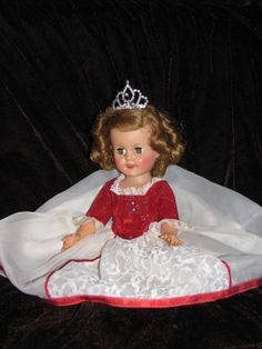 Vintage Shirley Temple 15 as Cinderella from The Fairy Tale Series Original Doll | eBay