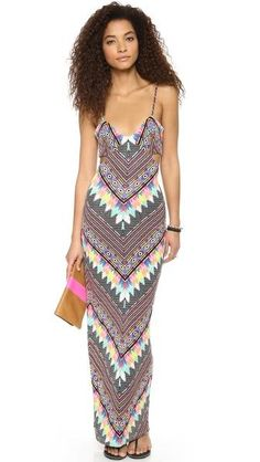 Mara Hoffman Divine Cutout Maxi Dress #poachit