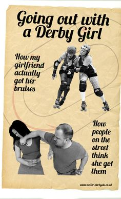Roller Derby players and the problems their boyfriends face