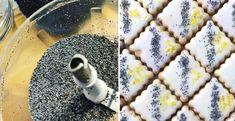 Makové kocky s citrónovou polevou - Receptik.sk Smoothie, Blueberry, Ale, Cereal, Oatmeal, Fruit, Breakfast, Food, Fitness