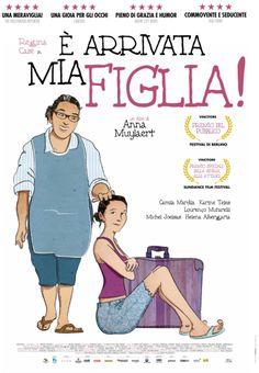 E' arrivata mia figlia (film, drammatico) diretto da Anna Muylaert con Regina Casé, Michel Joelsas, Camila Márdila ... al #cinema dal  4 giugno 2015 ... #film #trailer