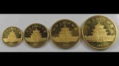 China 1982 Panda Series Gold Gold Coins, Panda, China, Money, Personalized Items, Silver, Pandas, Porcelain