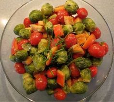 Seasonal vegetables are always such a treat, and this Dijon Brussels sprouts dish from Gluten Free and Glorious is no exception! Even people who don't like Brussels sprouts love this one! A lovely side dish for your Christmas meal!