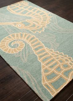 Sea Horsing Around Area Rug
