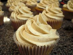 All vanilla chai cupcakes - this is it!