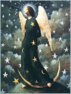 Luz y Oscuridad en mi...Bellísimo Ángel Guardián de Stephen Mackey