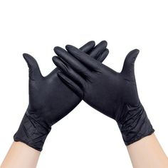 W.zz Disposable white gloves Nitrile Gloves by catering housework 50 pairs protective latex gloves Food commercial use work tattoo rubber