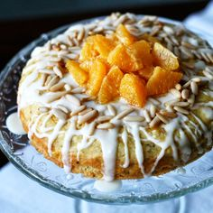 Maikin mokomin: Fenkolilla maustettu appelsiini–mantelikakku | Orange and almond cake with toasted fennel