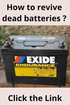 How to recondition batteries Cordless Drill Batteries, Ryobi Battery, Rv Battery, Off Grid Batteries, Lead Acid Battery, Battery Hacks, Battery Recycling, Diy Car, Restoration