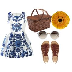 picnic by anul-rodriguez on Polyvore featuring polyvore fashion style Timberland Linda Farrow Certified International